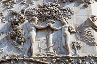 europe, italy, umbria, orvieto, cathedral, detail