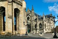 Saint Michel Basilica, Bordeaux, Gironde, Aquitaine, France