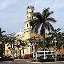 Mexico, Veracruz city, old lighthouse Benito Juarez