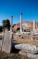 Italy, Lazio, Rome, the Roman Forum