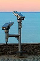 binoculars for lookout on the sea