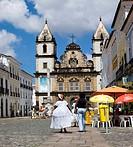 Street scenes in Salvador de Bahia, Brazil