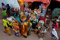 Christian Market, outside Showa Gate, Harar, Ethiopia