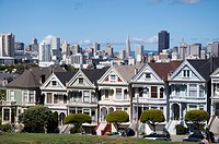 Painted Ladies in San Francisco, USA
