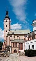 Slovakia,church Assumption of the Virgin Mary in town Banska Bystrica,