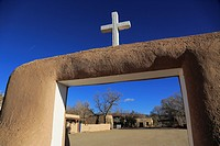 Ranchos de Taos. Taos. New Mexico. USA