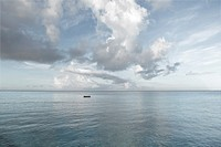 seascape, atlantic, Curacao