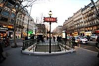 Odeon Station, Paris, France, Western Europe