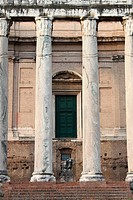 Temple of Antonino and Faustina in Rome
