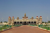India , Karnataka State , Mysore City, Mysore Palace
