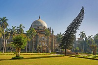 India, South India, Asia, Maharashtra, Mumbai, Bombay, City, Prince of Wales Museum, Prince of Wales, architecture, British, colonial, famous, garden,...