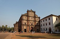 India, South India, Asia, Goa, City, World Heritage, Bom Jesus, Basilica, St. Francisco Javier, Church, World Heritage, architecture, church, Christia...