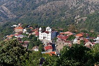 Cyprus, Townscape; Troodos