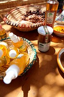 Argan oil products, Marocco