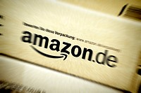 Parcels of internet seller amazon