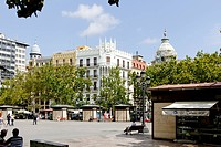 Plaza del Ayuntamiento, Valencia, Spain