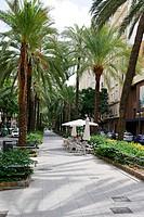 Streets in Valencia, Spain