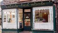 Tea Shop In Lynmouth, Exmoor, United Kingdom