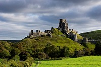 United Kingdom, England, Corfe Castle; Dorset