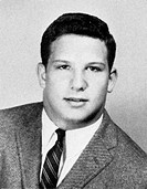 Albert Brooks (Albert Einstein) Senior Year 1965, Beverly Hills High School, Beverly Hills, California