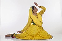Kathak , woman performing classical dance of india MR.NO.332