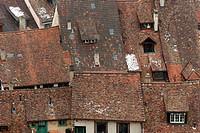 Rooftops, Schaffhausen, Switzerland