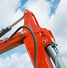 Hydraulic Arm of Digger
