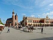 Main Market Square, Krakow, Poland.