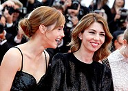Emma Watson and Sofia Coppola - Cannes/France/France - 66TH CANNES FILM FESTIVAL - RED CARPET JEUNE & JOLIE AND THE RING BLING