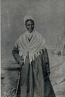 Sojourner Truth, African American abolitionist and champion of women's rights. Born into slavery as Isabella Baumfree (1797-1883) she escaped to freed...