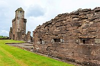 ruins of Crossraguel Abbey, Ayrshire, Scotland.