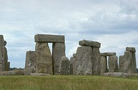 Stonehenge, Wiltshire, England: massive stones of up to 50 tons each erected 2500 - 1500 BC