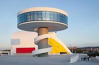 Oscar Niemeyer Centre, Aviles, Spain, by Oscar Niemeyer, from Plaza, AVILÉS, SPAIN, Architect.