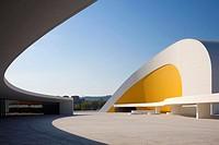 Oscar Niemeyer Centre, Aviles, Spain, by Oscar Niemeyer, auditoriumAVILÉS, SPAIN, Architect.