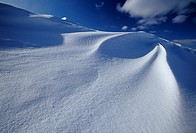 Snow Drifts On Ice Pack, Madeleine Islands, P.Q., Canada
