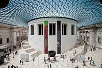 The Great Court, The British Museum, London, England.