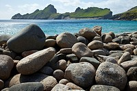 Village Bay. St. Kilda Island. Outer Hebrides. Scotland, UK.