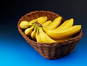 bananas in basket