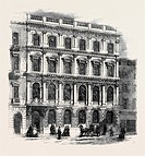 THE MUTUAL LIFE ASSURANCE SOCIETY OFFICES KING STREET CHEAPSIDE