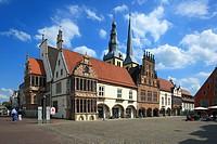Germany, Lemgo, Bega, Lipper Bergland, Lippisches Bergland, Weserbergland, Teutoburg Forest / Egge Hills Nature Park, East Westphalia, North Rhine-Wes...