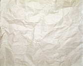 crumpled packaging paper of bright colour. - 10/07/1998