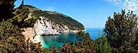 Italy, Apulia, Salento, Gargano, a bay