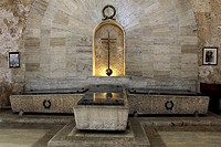 Tombs of national heroes in the Panteon Nacional located in the city of Santo Domingo in the Dominican Republic. The Panteon Nacional was constructed ...