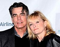 Peter Gallagher and Paula Wildash - Beverly Hills/California/United States - 8TH ANNUAL OSCAR WILDE HONORING THE IRISH IN FILM PRE ACADEMY AWARDS EVE