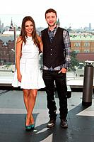Mila Kunis, Justin Timberlake - Moscow//Russia - FRIENDS WITH BENEFITS FILM PRESS-CONFERENCE AND PHOTOCALL