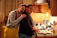 THE SOPRANOS Series,6 JOHN COTELLOE as Jim Witowski, JOSEPH GANNASCOLI as Vito Spanafore