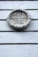 house of Oscar Wilde, dublin, ireland