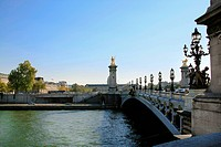 Alexander III Bridge, Paris, France, Western Europe