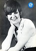 Cilla Black, British pop singer, 1960s. Cilla Black began her career singing with various Merseybeat groups at Liverpool's famous Cavern Club in the e...