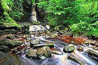 Mill Gill Force, Askrigg, Wensleydale, Yorkshire Dales, England, UK.